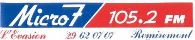 Micro 7: 105.2 Mhz FM STEREO