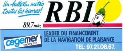 Radio belle île 89.7 Mhz FM STEREO