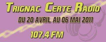 Trignac Certé Radio 107.4 Mhz FM STEREO