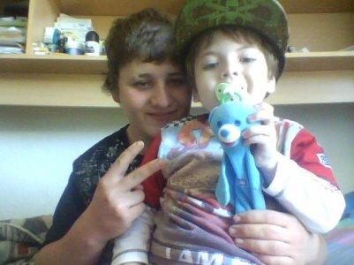 moi et le petit :)