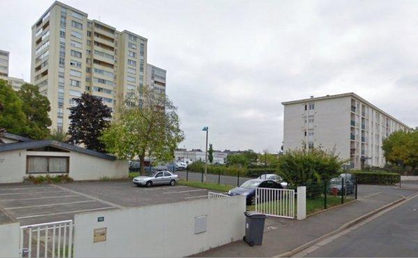 Rue de l'Eridence à la Rabaterie, St Pierre des Corps.