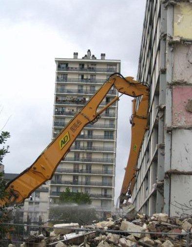 Rénovation du Quartier du Sanitas, Tours.