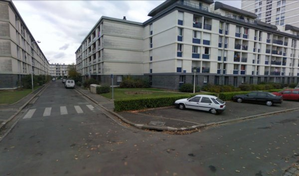 Des blocs de la Cité du Sanitas, Tours.