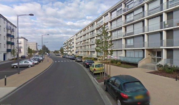 Une avenue de la Zup de la Rabière, Joué les Tours.
