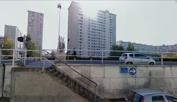 Les tours de la Cité Bouzignac, Tours.