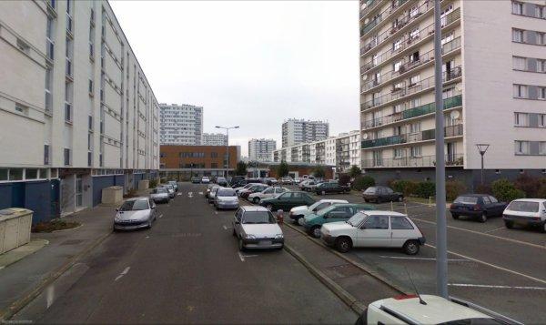 Un Bloc du Quartier des Rives du Cher, Tours.