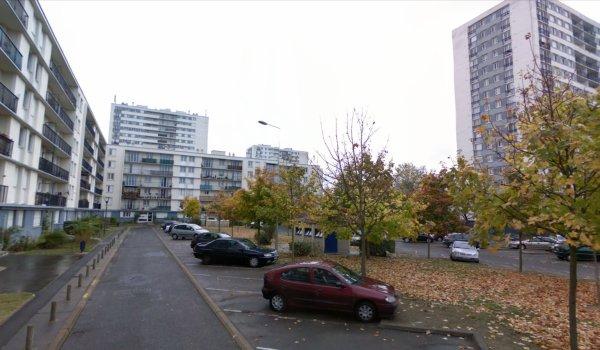 Tours et barres du Quartier des Rives du Cher, Tours.