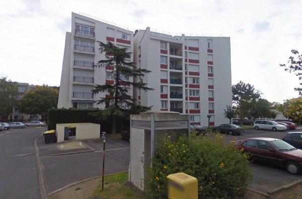 Un bâtiment de la ZUP de la Rabière,  Joué les Tours.