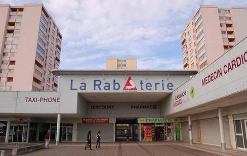 Le Grand Mail, la Rabâterie. Saint-Pierre-des-Corps.
