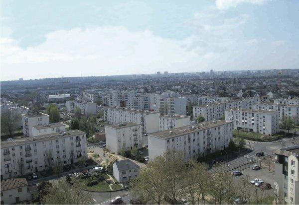 Quartier Blanqui/Petit Mail à la Cité de la Rabâterie, Saint-Pierre-des-Corps.