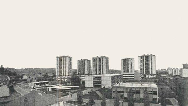 L'Aubrière dans le Quartier de la Rabaterie, Saint-Pierre-des Corps (1970)