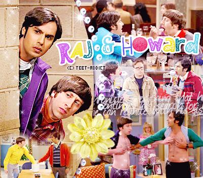 Raj & Howard -décoration - création-