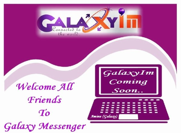 Galaxy Messenger Connected To The World