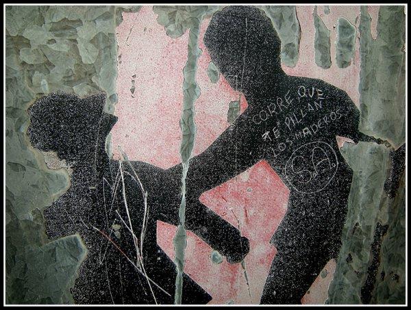 Graffitis _Rural .Serrania de cuenca