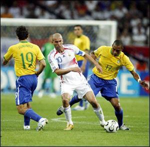 Coupe du monde 2006 : France-Brésil.     ( # Posté le dimanche 20 avril 2008 18:16 )
