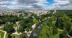 Les espaces verts à Paris.