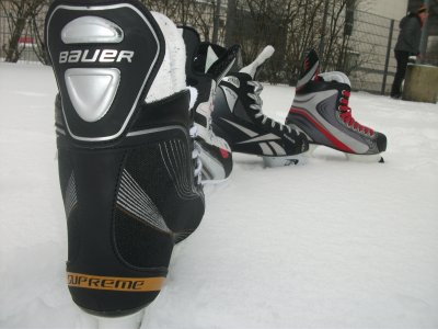 week end neige, patinoire avec les vrais frères !