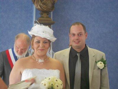 25-08-2012 : Félicitations Cédric et Typhanie
