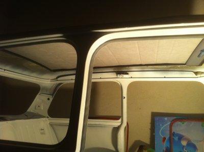 pose d 39 un toit ouvrant de twingo restauration de ma mini austin. Black Bedroom Furniture Sets. Home Design Ideas