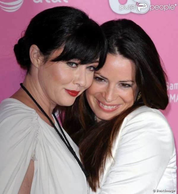 Holly Marie Combs and Shannen Doherty