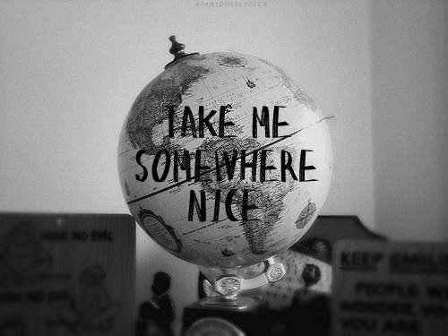 Let's run away together! Someplace where it's Possible.