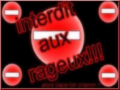 Stop aux rageux(ses)