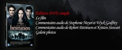 sortie de twilight hesitation en dvd....rectification