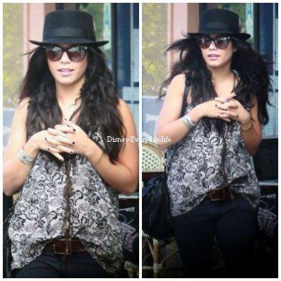 12-10 ~ Vanessa se promenant avec une amie sur Santa Monica Promenade et a acheter une imprimante a l'Apple Store, j'aime beaucoup sa tenue c'est simple et jolie a la fois pour moi c'est TOP