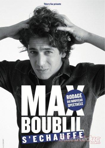 Max Boublil s'echauffe!