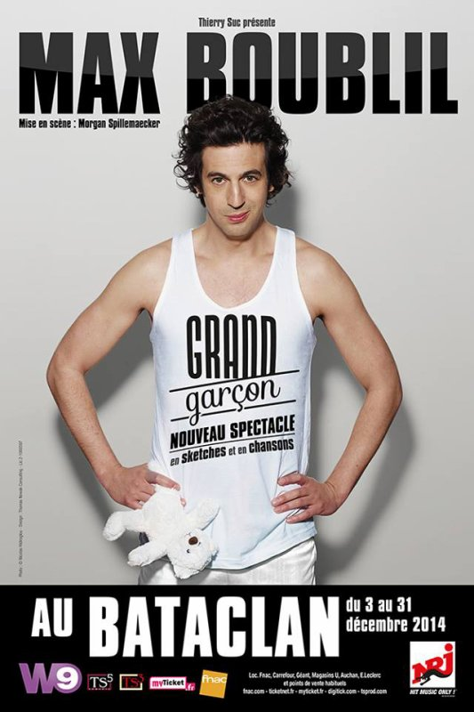 Max Boublil Grand garçon