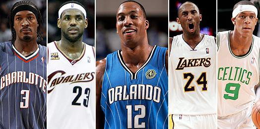 NBA all-defensive first team