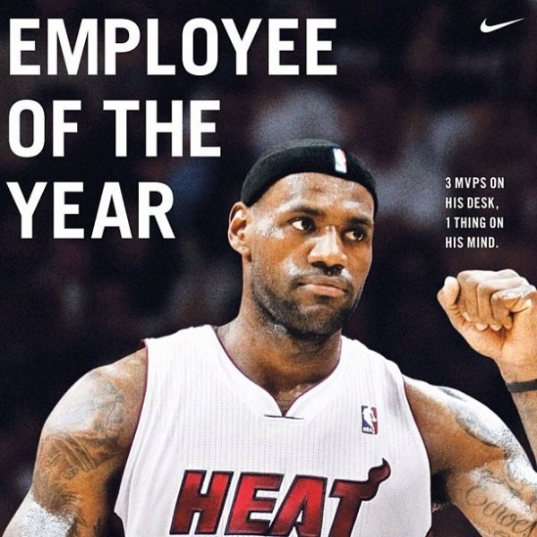 MVP 2012 : LeBron James