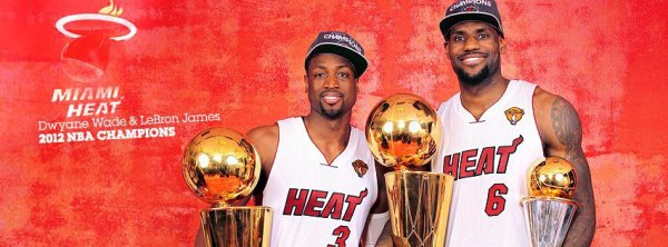 Miami Heat Champion 2K12 !