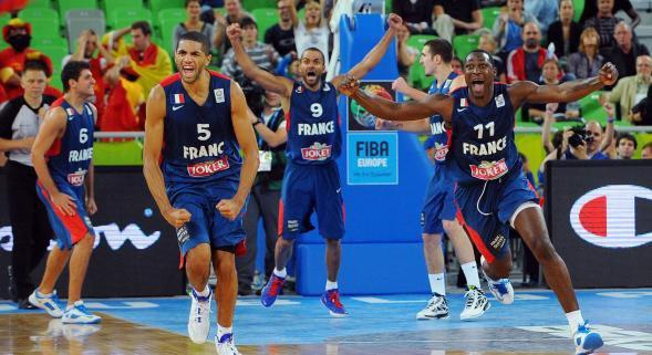 Eurobasket : Espagne vs France - 75-72 a.p.