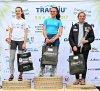 transjutrail Anna Salomée podium des 5 kms, Victor podium des 10 kms