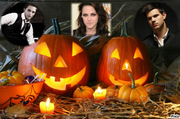 Montage Halloween TWILIGHT