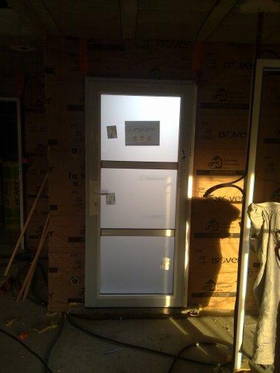 Notre porte d'entrée (sur un autre chantier)