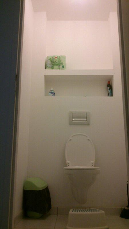 etagere wc placo deco86. Black Bedroom Furniture Sets. Home Design Ideas