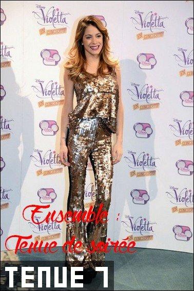Les tenues de Martina Stoessel !