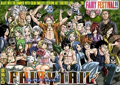 Mon parcours avec Fairy Tail ♥♥