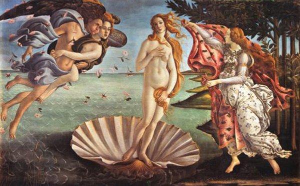 Vénus sortant des eaux