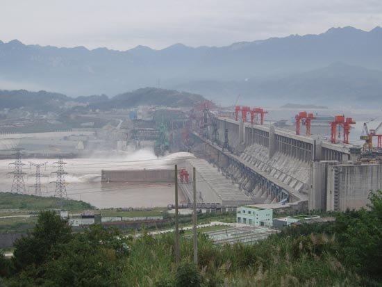 barrage des 3 gorges (Chine)10:50