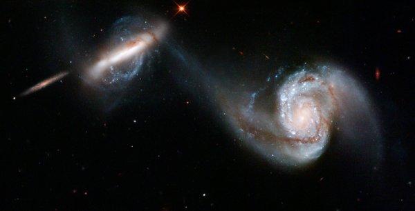 galaxies fusion