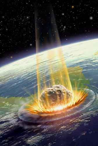 chute météorite KC