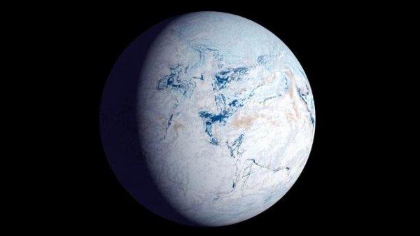 la Terre boule de neige
