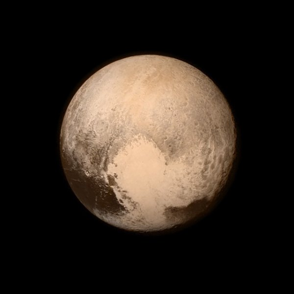 Pluton par New Horizons