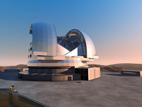télescope géant européen E-ELT