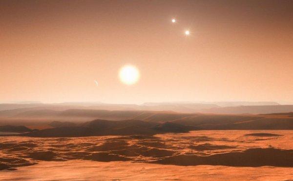 planète aux trois soleils