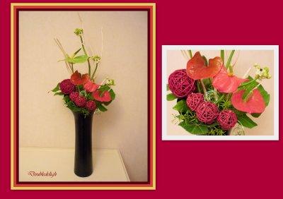 Bouquet d'accueil pour 2ème dimanche de l'Avent