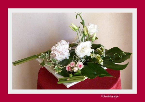 Lysianthus blanc ...